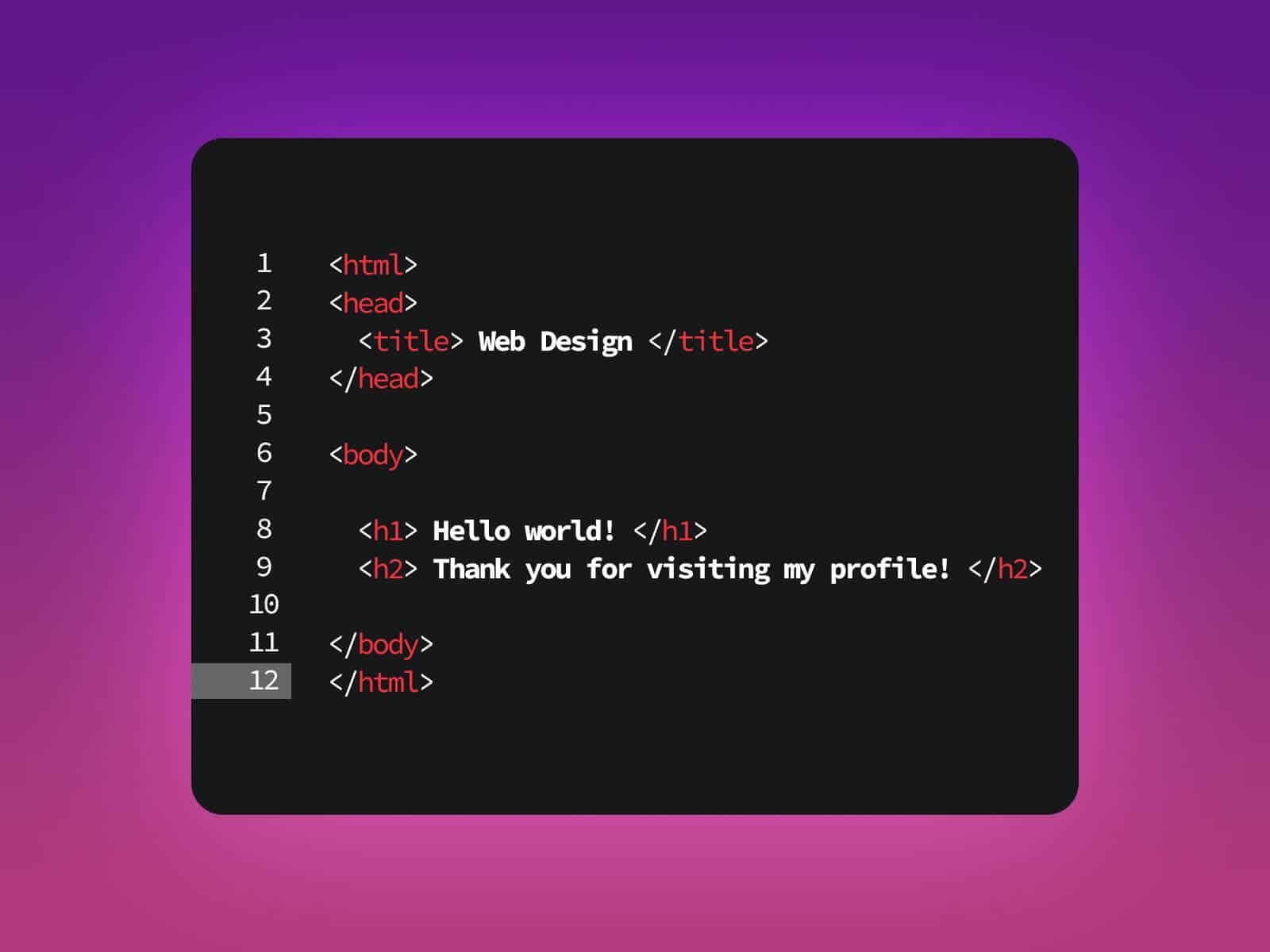 Immagine scrittura codice web