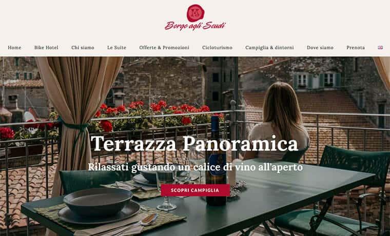 Sviluppo sito web per Borgo Agli Scudi