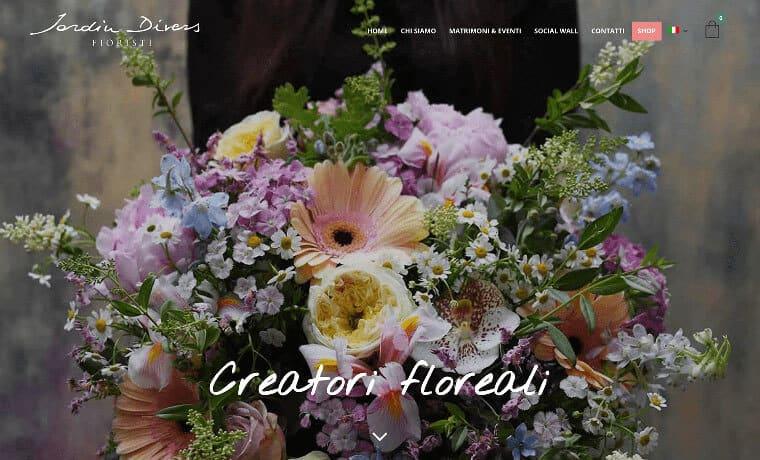 Creazione E-commerce Jardin Divers